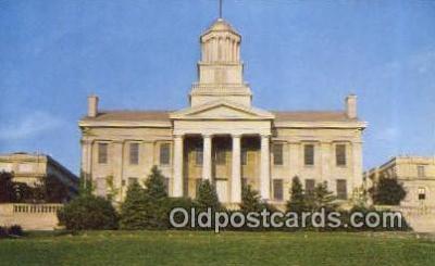 cap002231 - Iowa City, Iowa, IA State Capital, Capitals Postcard Post Card USA