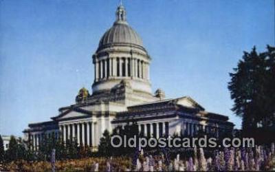 cap002236 - Olympia, Washington, WA  State Capital, Capitals Postcard Post Card USA