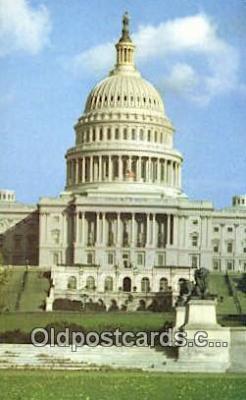cap002238 - Washington DC State Capital, Capitals Postcard Post Card USA