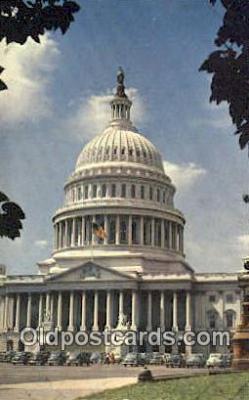 cap002243 - Washington DC State Capital, Capitals Postcard Post Card USA