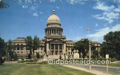 cap002244 - Boise, Idaho, ID  State Capital, Capitals Postcard Post Card USA