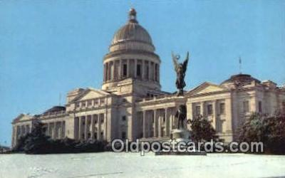 cap002254 - Little Rock, Arkansas, AR State Capital, Capitals Postcard Post Card USA