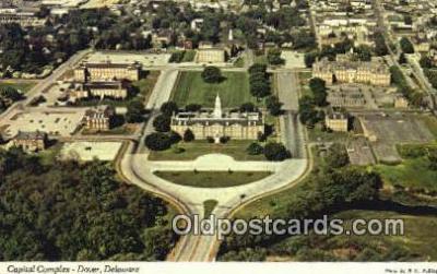 cap002262 - Dover, Delaware, DE  State Capital, Capitals Postcard Post Card USA