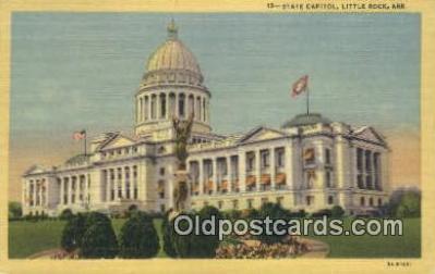 cap002271 - Little Rock, Arkansas, AR State Capital, Capitals Postcard Post Card USA