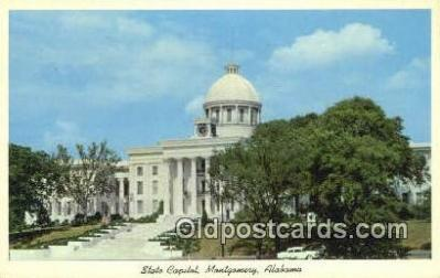 cap002274 - Montgomery, Alabama, AL  State Capital, Capitals Postcard Post Card USA