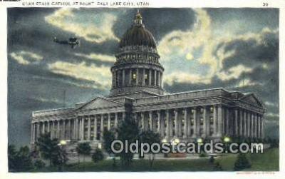 cap002283 - Salt Lake City, Utah, UT  State Capital, Capitals Postcard Post Card USA