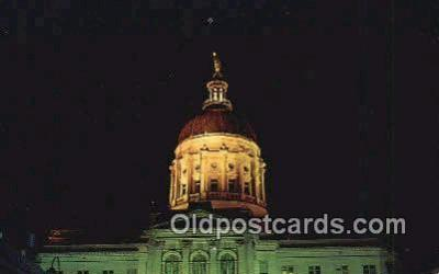 cap002296 - Atlanta, Georgia, GA State Capital, Capitals Postcard Post Card USA