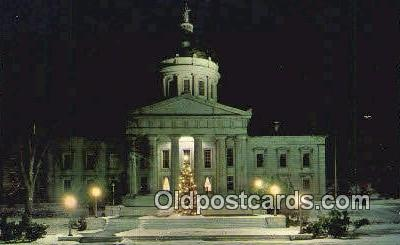 cap002300 - Montpelier, Vermont, VT State Capital, Capitals Postcard Post Card USA