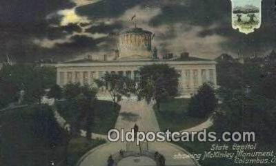cap002302 - Columbus, Ohio, OH  State Capital, Capitals Postcard Post Card USA