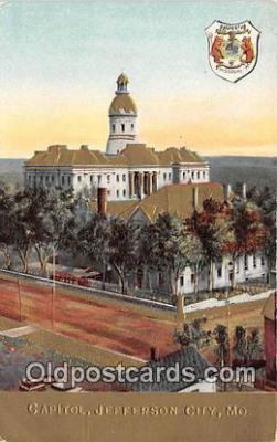 cap002307 - Capitol Jefferson City, MO, USA Postcard Post Card