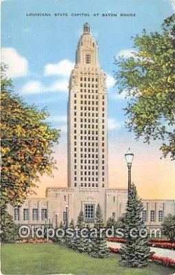 cap002318 - Louisiana State Capitol Baton Rouge, LA, USA Postcard Post Card