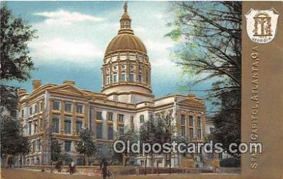 cap002331 - State Capitol Atlanta, GA, USA Postcard Post Card