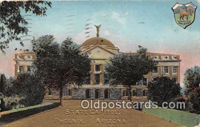 cap002332 - State Capitol Phoenix, Arizona, USA Postcard Post Card