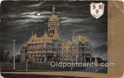 cap002338 - Capitol Hartford, Connecticut, USA Postcard Post Card