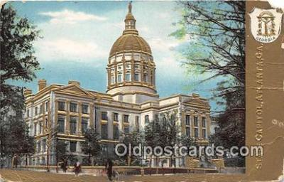 cap002339 - State Capitol Atlanta, GA, USA Postcard Post Card