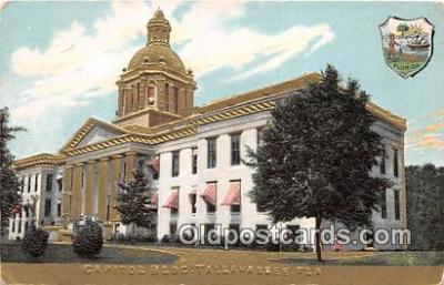 cap002341 - Capitol Building Tallahassee, FL, USA Postcard Post Card