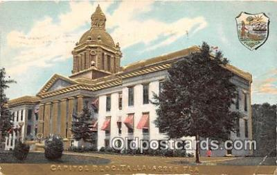 cap002342 - Capitol Building Tallahassee, FL, USA Postcard Post Card