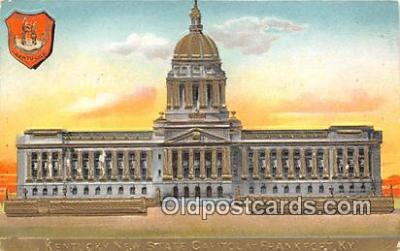 cap002351 - Kentucky New State Capitol Frankfort, KY, USA Postcard Post Card