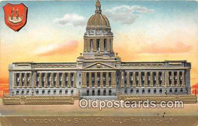cap002352 - Kentucky New State Capitol Frankfort, KY, USA Postcard Post Card