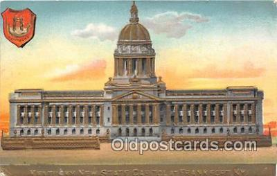 cap002353 - Kentucky New State Capitol Frankfort, KY, USA Postcard Post Card