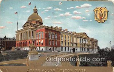 cap002354 - State House Boston, Mass, USA Postcard Post Card