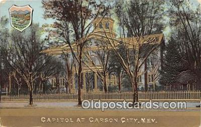 cap002364 - Capitol Carson City, Nevada, USA Postcard Post Card