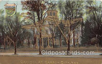 cap002365 - Capitol Carson City, Nevada, USA Postcard Post Card