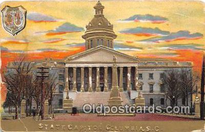 cap002377 - State Capitol Columbia, SC, USA Postcard Post Card