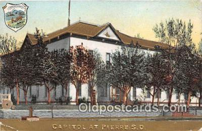cap002378 - Capitol Pierre, SD, USA Postcard Post Card