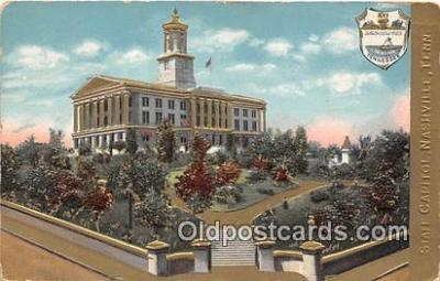 cap002380 - State Capitol Nashville, TN, USA Postcard Post Card