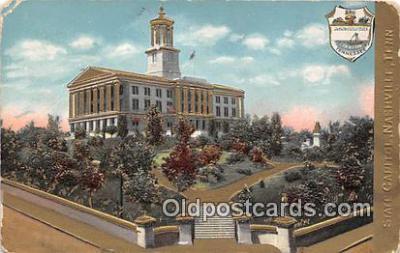 cap002381 - State Capitol Nashville, TN, USA Postcard Post Card