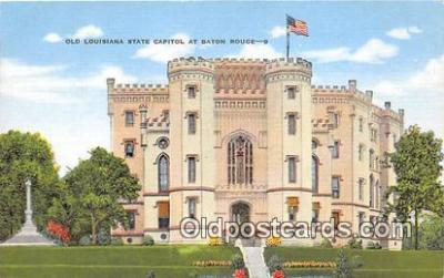 cap002383 - Old Louisiana State Capitol Baton Rouge, LA, USA Postcard Post Card