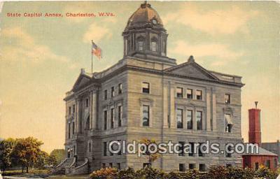 cap002388 - State Capitol Annex Charleston, W VA, USA Postcard Post Card