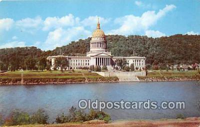 cap002390 - West Virginia State Capitol Charleston, W VA, USA Postcard Post Card