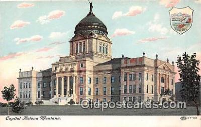 cap002418 - Capitol Helena, Montana, USA Postcard Post Card
