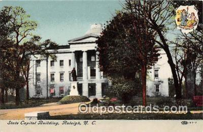 cap002436 - State Capitol Building Raleigh, NC, USA Postcard Post Card