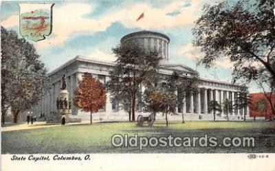 cap002440 - State Capitol Columbus, Ohio, USA Postcard Post Card