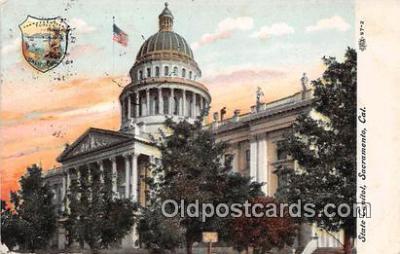 cap002441 - State Capitol Sacramento, CA, USA Postcard Post Card