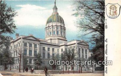cap002443 - State Capitol Atlanta, GA, USA Postcard Post Card