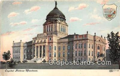 cap002448 - Capitol Helena, Montana, USA Postcard Post Card