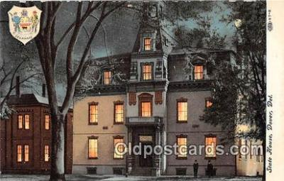 cap002452 - State House Dover, Delaware, USA Postcard Post Card