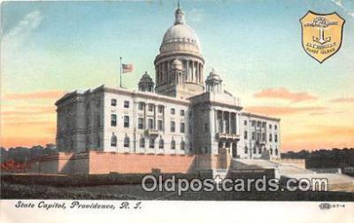 cap002453 - State Capitol Providence, RI, USA Postcard Post Card