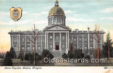 cap002455 - State Capitol Salem, Oregon, USA Postcard Post Card