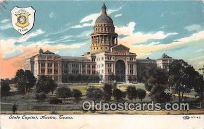 cap002463 - State Capitol Austin, Texas, USA Postcard Post Card