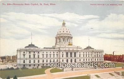 cap002476 - Minnesota State Capitol St Paul, Minn, USA Postcard Post Card