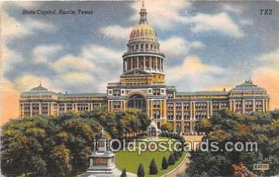 cap002479 - State Capitol Austin, Texas, USA Postcard Post Card