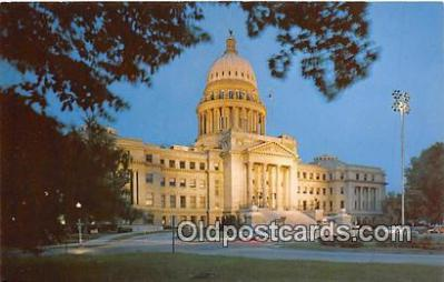 cap002493 - Idaho State Capitol Boise, Idaho, USA Postcard Post Card