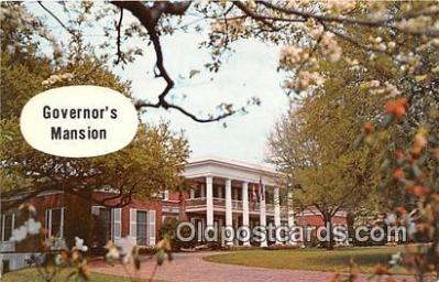 cap002552 - Governor's Mansion Tallahassee, FL, USA Postcard Post Card