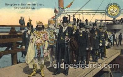 car001012 - New Orleans, Louisina, La, USA New Orleans Carnival Parade, Parades Postcard Post Card