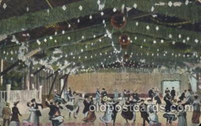 car001017 - Paw Paw Lake, Michigan, Mi, USA Carnival Parade, Parades Postcard Post Card
